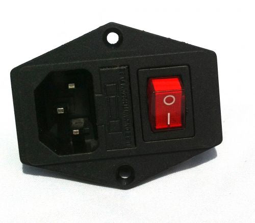Fused Power Switch Socket, Kettle Plug