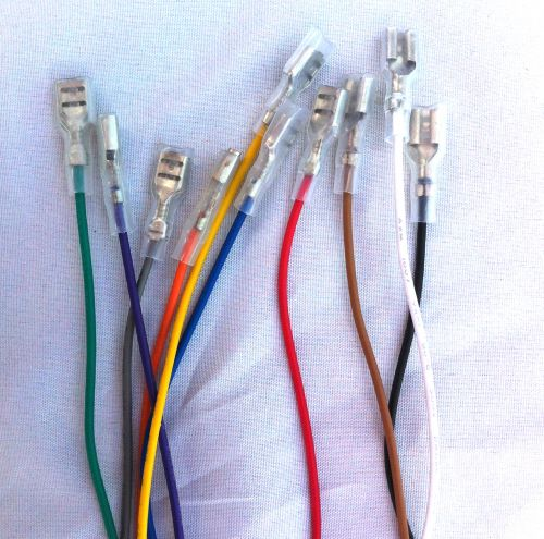 1 meter wire with quick connect, choose your colour