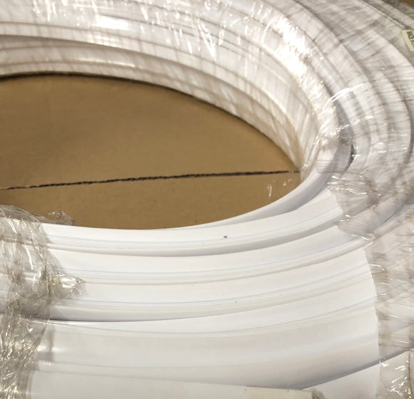16mm White T-moulding