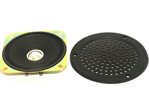 Speaker and Round Grill