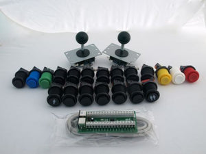 I-Pac 2 Joystick and Buttons Pack