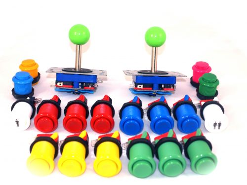Joystick pack 2 x joysticks and 18 buttons