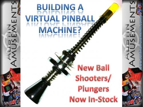 New Pinball Ball Shooter- Plunger.