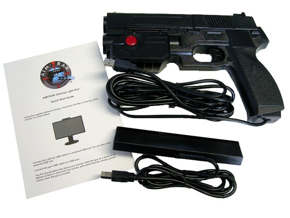 AimTrak Light Gun BLACK, Now In-Stock!