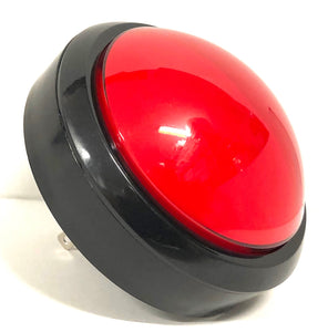 LARGE LED Dome Button, RED