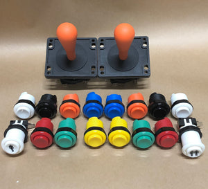Arcade Pack 1- Happ Style Competition Joysticks & Ausleaf Buttons