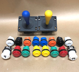 Arcade Pack 3- Happ Style Competition Joysticks & Ausleaf Buttons