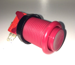 High Quality American Style Push Button Red