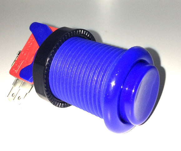 High Quality American Style Push Button Blue