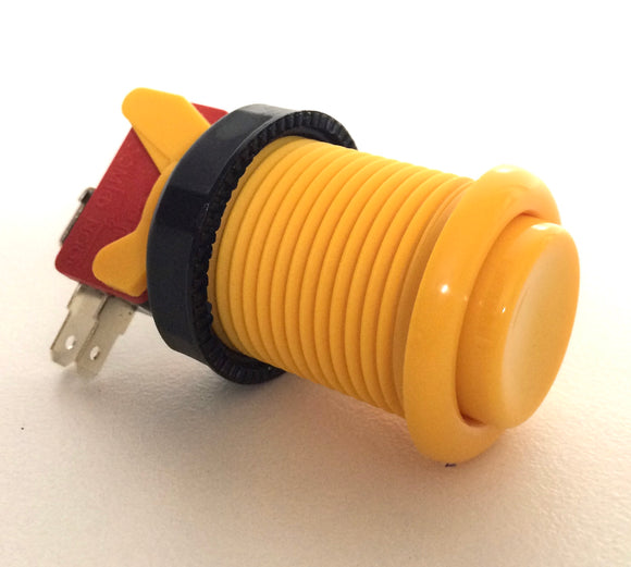 High Quality American style push button yellow