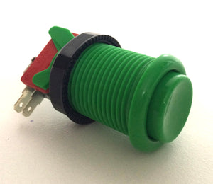 High Quality American Style Push Button Green