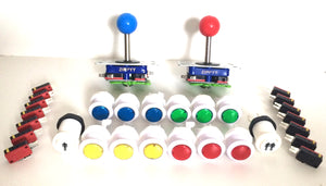 Joystick and Button Pack