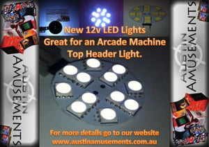 12v LED Light, For in an Arcade Machine Header