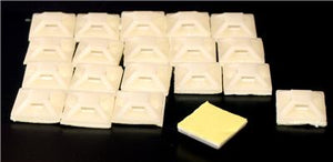 100 Self Adhesive Tie Mounts