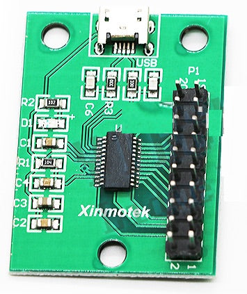 NEW Xin-Motek PS3 Controller USB Encoder, Single Player