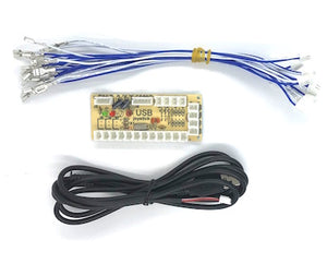 Zero Delay Single Player Encoder, 4.8mm Terminals