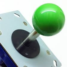 Short Shaft Zippy Joystick Green Top