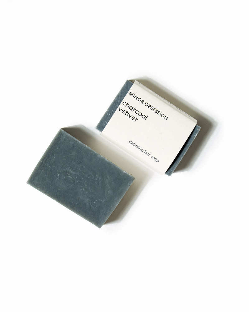 Charcoal Vetiver Detoxing Bar Soap