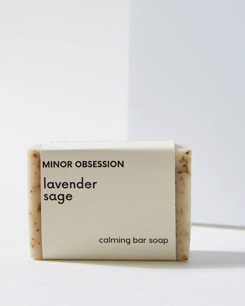 Lavender Sage Calming Bar Soap