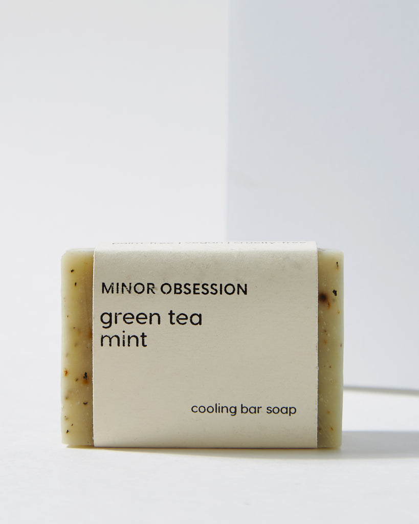 Green Tea Mint Cooling Bar Soap