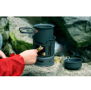 7 Piece, Multi Fuel Source Cooking System