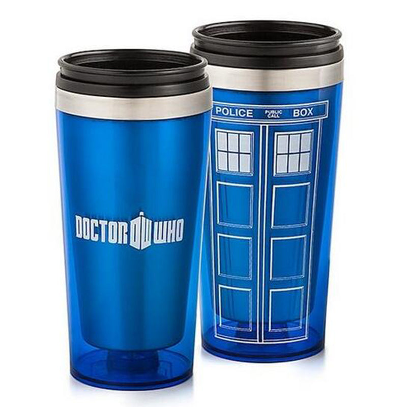 Doctor Dr. Who Tardis Coffee Cup