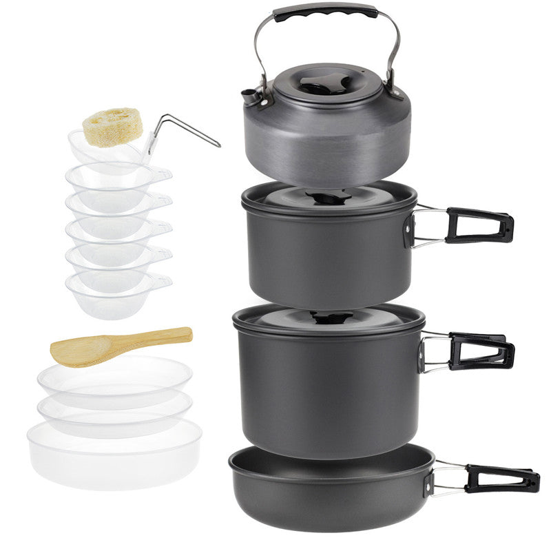 Sunfield Aluminium Alloy Camping Pot Set