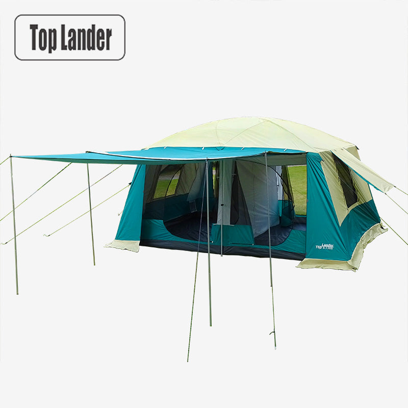 8-12 Person, 2 Bedroom Cabin Tent