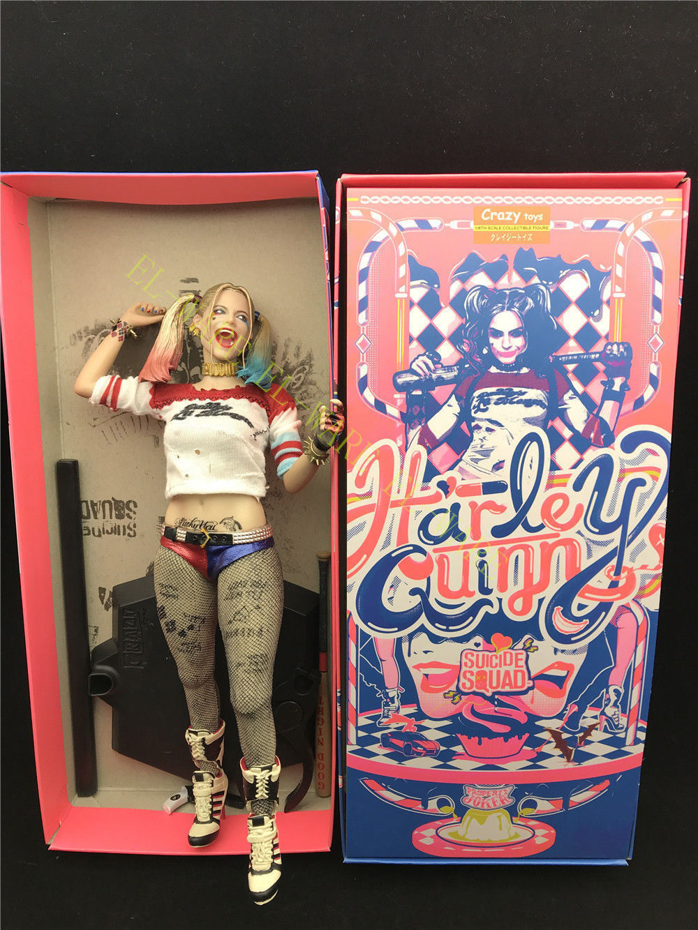 Suicide Squad Harley Quinn 12'' Real Cloth Collectible Model
