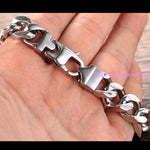 Stainless Steel Link Chain Men's Bracelets