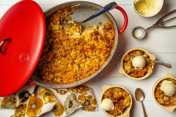 Erin McDowell's Pear-Apple Cobbler
