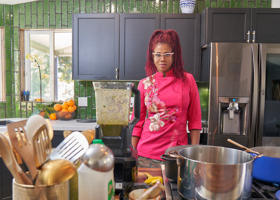 How Kelis Cooks When She's Not on the Road