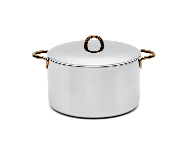 Big Deal stainless steel stock pot - side