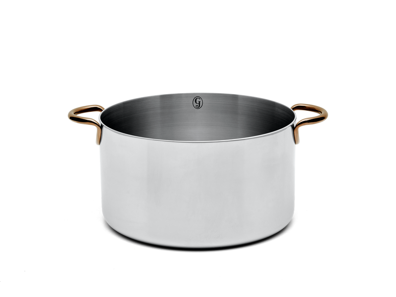 Big Deal stainless steel stock pot - side no lid