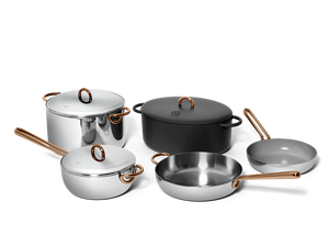 Family Style cookware set - Pepper black