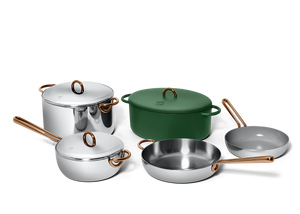 Family Style cookware set - Broccoli green