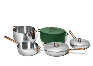Family Style cookware set - Broccoli green 2