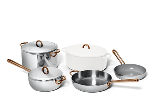 Family Style cookware set - Salt white