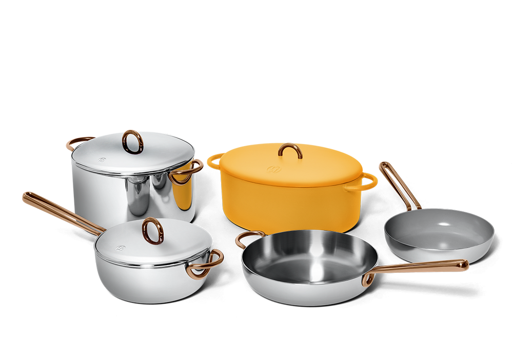 Family Style cookware set - Mustard yellow