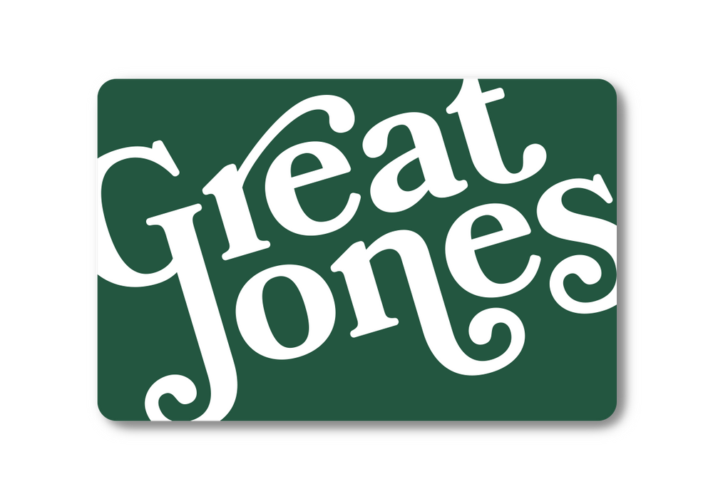 Great Jones gift card