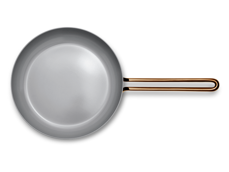 Large Fry nonstick pan - top down view
