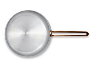 Large Fry nonstick pan - bottom view