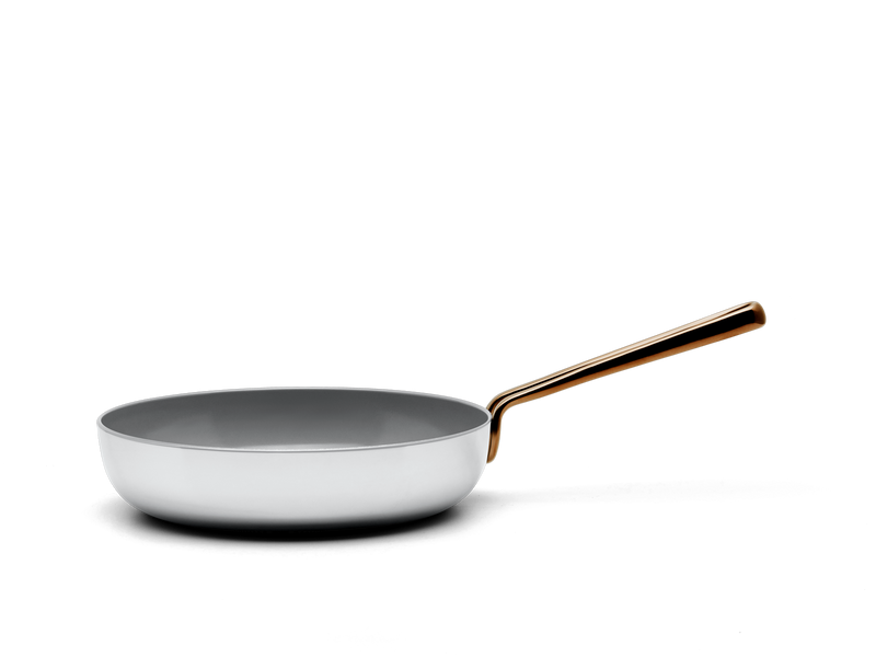 Small Fry nonstick pan - side view