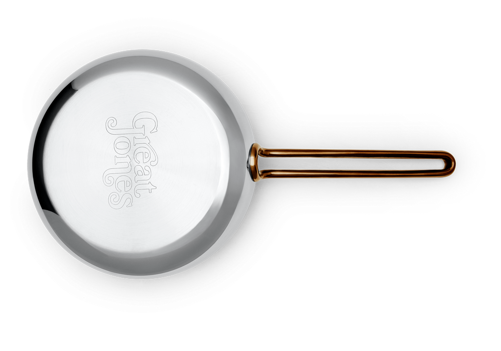 Small Fry nonstick pan - bottom view