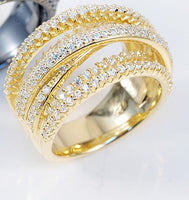 Multi Line Top Selling Ring