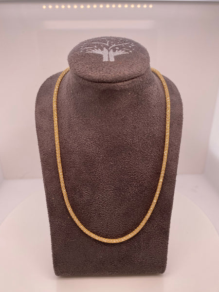 Italian Mesh Necklace