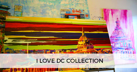 Maggie O'Neill I LOVE DC Collection