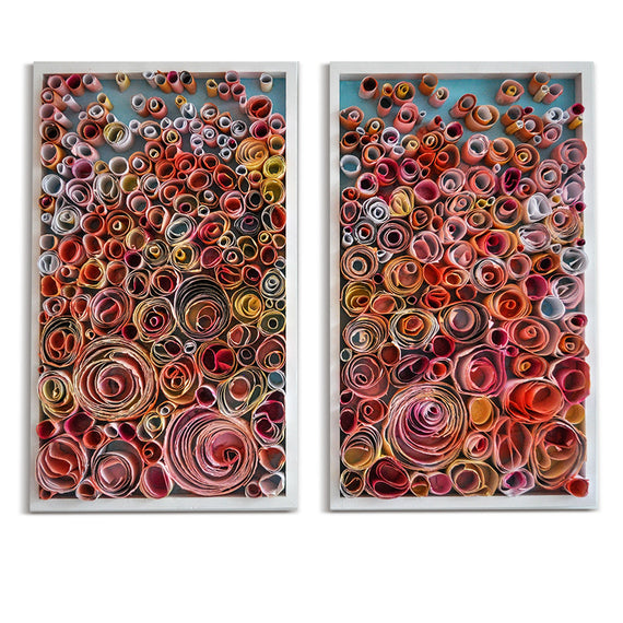 Blossom Rolls (2018) • 18 x 30 - one available