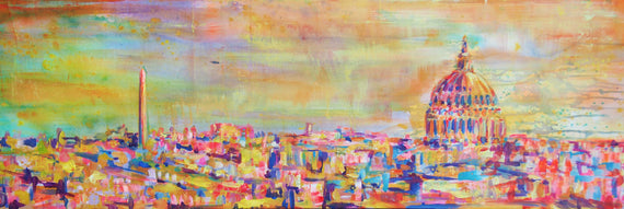 PINEAPPLE SKIES (2019) • 18 x 54