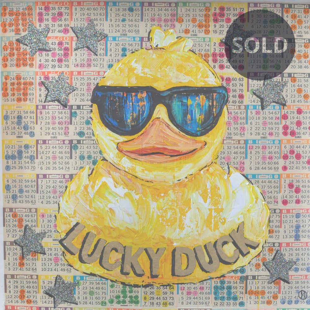 Maggie O'Neill | Artist | Original Art | One Lucky Duck (2019)